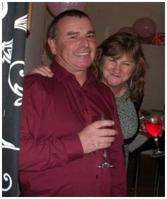 """Renate and David, Derbyshire: """"It's really easy to give up if you don't meet Mr. or Miss Right straight away, but I kept trying. If I hadn't, I would never have met this wonderful man. He's romantic, caring and we're always on the same wavelength, which is exactly what I was looking for."""""""