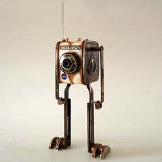 A NASA research robot for extraterrestrial life from the 60th's