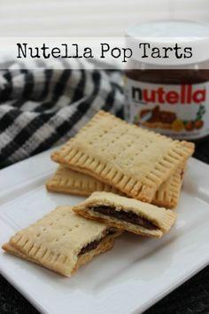 Nutella Pop Tarts Recipe | Homemade Pop Tarts!