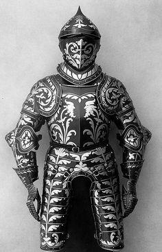 Half armor (17 kg helmet 25 kg) Austria 1560[400x623)