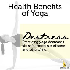 De-stress by practicing yoga