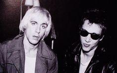Iggy Pop and Richard Hell.