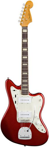 Fender '66 Jazzmaster Candy Apple Red reissue