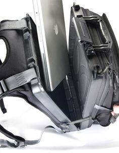 f4eaef62c4d1 Burliest Backpack ever Built  (Hard-Side Case Inside)