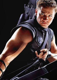 My new goal is to shoot half as good as Hawkeye! That should take me a bit! :)