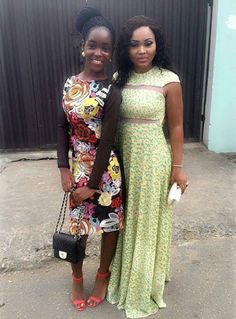 Michelle & Mercy Aigbe Gentry at city people awards 2015