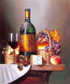 levkonoe   Raymond Campbell. Вино с сыром и фруктами-ягодами