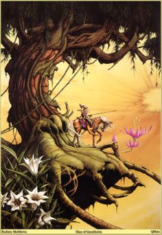 Castle Dragonscar: 1970s Fantasy Art: Rodney Matthews