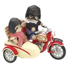 Calico Critters Motorcycle and Sidecar