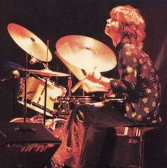 Mike Shrieve of Santana at Woodstock.  Can you believe that drum solo on Soul Sacrifice at 19 years of age? WOW!