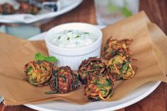 Herbed Zucchini and Feta Fritters | Girl Cooks World
