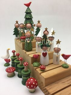 santa clothespin dolls - Yahoo Search Results Image Search R Wood Peg Dolls, Clothespin Dolls, All Things Christmas, Christmas Time, Christmas Ornaments, Dolly Doll, Scandinavian Christmas, Swedish Christmas Decorations, Santa Lucia