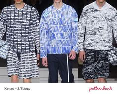 Menswear Paris Print & Pattern Highlights - Spring/Summer 2014   Patternbank