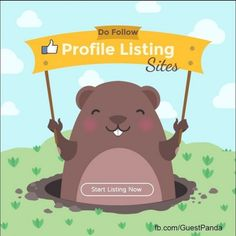 Now you can get huge data of profile creation sites now available at #Guestpanda. Create quality backlinks on these sites and improve your website visibility in major search engines.   #Seonett #Offpage