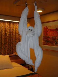 Lots of towel animals