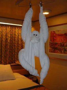 Lots of towel animals