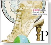Clipped from Marie Claire using Netpage. My future wedding shoes! So princess-esque! :)