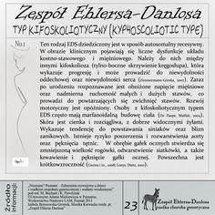 EDS, Zespół Ehlersa-Danlosa, Ehlers-Danlos Syndrom