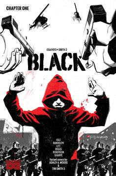 Black is the new superhero comic by Kwanza Osajyefo and Jamal Igle coming from Black Mask Press that envisions a world in which only black people have Black Mask Comics, Comic Book Covers, Comic Books, Comic Art, Superhero Series, Studio S, Black History Month, A Comics, Black People