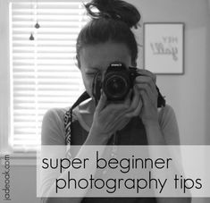 If you are new to having a DSLR camera, here are some super beginner photography tips from me to you. #DslrCameras