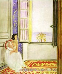 woman by a window, henri matisse