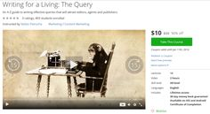 Writing for a Living: The Query http://ift.tt/1VTMERB  #udemy #coupon #discount #couponcode #promocode
