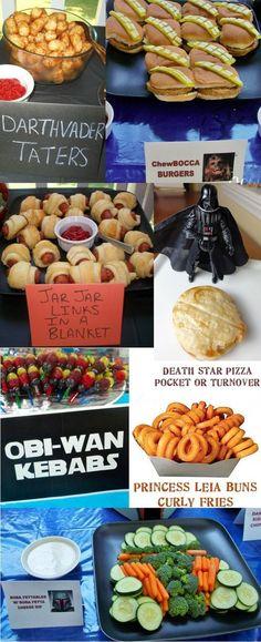 Star Wars Themed Party Foods-the veggie tray Star Wars Food, Star Wars Party Food, Star Wars Themed Food, Star Pizza, Aniversario Star Wars, Star Wars Wedding, Star Wars Christmas, Dinner Themes, Star Wars Birthday