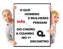 Homens Mulheres Odeiam - Cheiro de Cigarro info. Behance