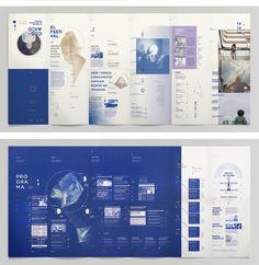 Hierarchical Grid Style Cósmico_ on Behance Web Design, Layout Design, Print Layout, Book Design, Cover Design, Leaflet Layout, Leaflet Design, Brochure Layout, Brochure Design