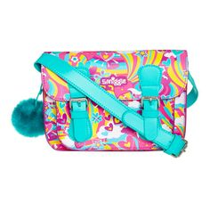 Kimmi Softy Rainbow Satchel Bag