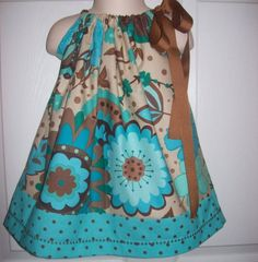 pillow case dress! So pretty. I'm gonna figure out how to make one of these.