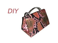 ▶ Bolso cartón, DIY, Reciclar caja de cereales, cartonaje. Cardboard handbag - YouTube