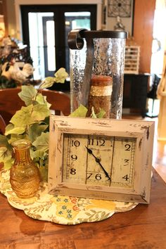 A cute little clock for your kitchen.