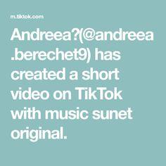 Andreea❤(@andreea.berechet9) has created a short video on TikTok with music sunet original. The Creator, The Originals, Create, Music, Musica, Musik, Muziek, Music Activities, Songs