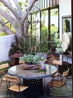 Lovely small outdoor space