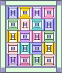 Baby Steps Quilt Pattern