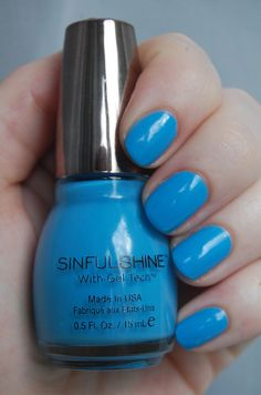 Skinny Dipping  from the Sinful Shine collection