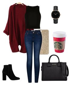 """Winter Chills"" by littleneverlander on Polyvore featuring Michael Kors, River Island, 2LUV, MANGO, Topshop and Karl Lagerfeld"