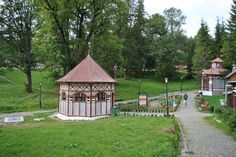 Mineral springs in Borsec Romania, Places Ive Been, Mineral, Gazebo, Outdoor Structures, Kiosk, Pavilion, Cabana, Minerals