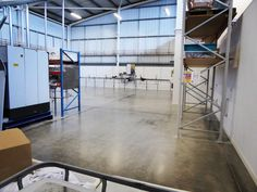 Polished Concrete Factory Floor Sheffield
