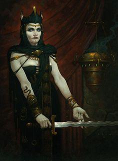 ✯ Ghoul Queen :: Artist Brom ✯