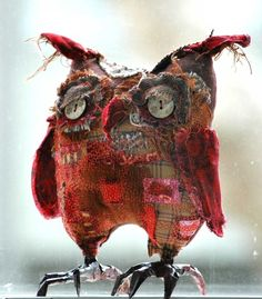 #owls #soft_sculpture #birds