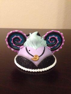 Disney Ursula Ear Ornament