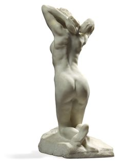 "Auguste RODIN (1840-1917), ""Faunesse à genoux"" (The Kneeling Female Faun)"