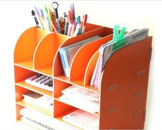 Cute Office Supply Storage Box Instationery Holder From School Supplies On Aliexpress