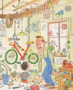 Interactieve praatplaat:  De fiets by Ingrid Heersink
