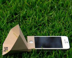 건전지가 필요없는 친환경 종이 스피커
