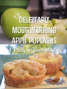 Apple Popovers: A Party in Your Mouth! - The Bold Abode