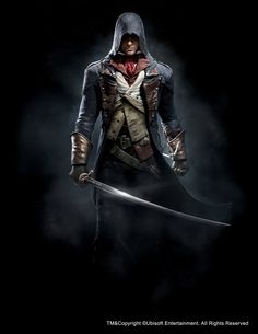 Assassin's Creed Unity - Arno, Anthony Guebels on ArtStation at http://www.artstation.com/artwork/assassin-s-creed-unity-arno