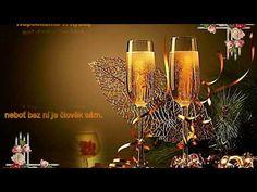 Blahopřání k narozeninám 2018 - YouTube Happy New Year, Light Bulb, Champagne, Candle Holders, Candles, Youtube, Decor, Decoration, Light Globes
